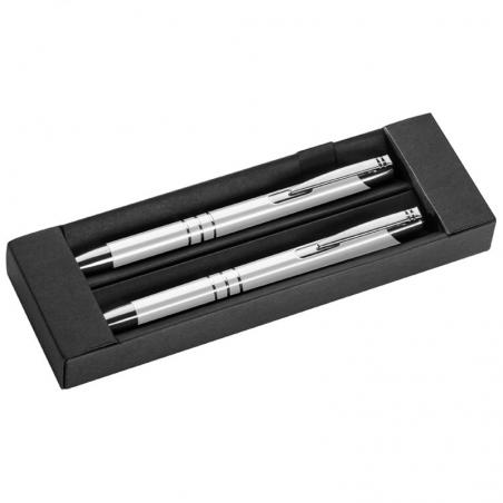 Parure de stylos personnalisés | SILVER SET
