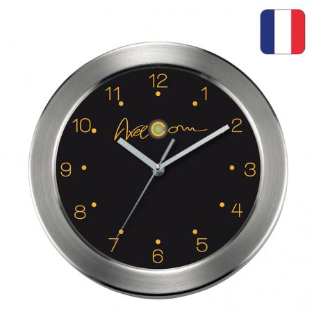 Horloge publicitaire personnalisé Française | METALBOX